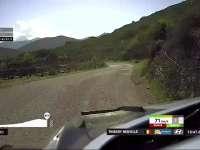 WRC科西嘉站SS8赛段 诺伊维尔强势获得第一