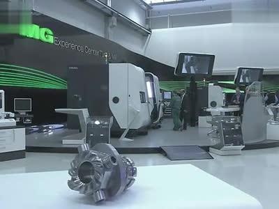【枫】德国的数控机床太牛逼了(清晰)