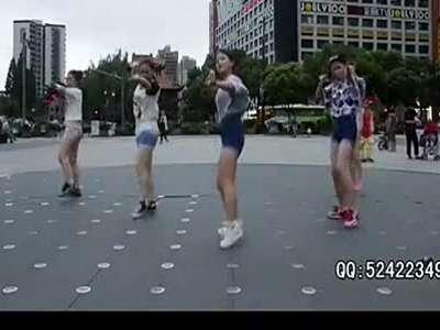 【久图网】美女广场嗨跳广场舞《燃烧吧蔬菜》