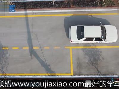 侧方停车教学视频:侧方停车技巧