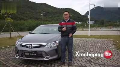 新车评曾昭庆试驾广汽丰田新凯美瑞视频