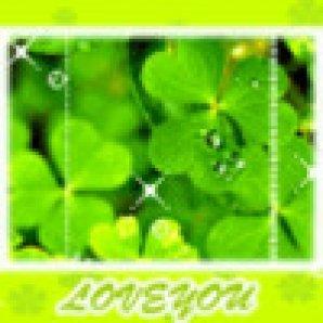绿色风景图片头像