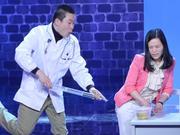 《笑傲江湖》20140323:医生模仿小沈阳台上抽疯 冯小刚豪捐十万助选手