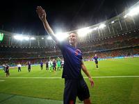 回放-西班牙1-5荷兰 卫冕冠军惨遭大屠杀