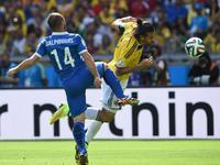 哥伦比亚3-0希腊 铁卫闪电球妖锋定胜局