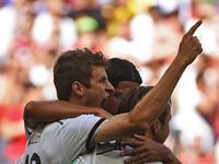 葡萄牙禁区混战 穆勒梅开二度德国队3-0领先
