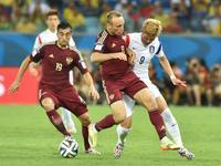 全场回放-俄罗斯1-1韩国 门将黄油手克尔扎科夫破门