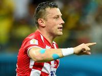 奥利奇门前推射破门 克罗地亚1-0取得领先