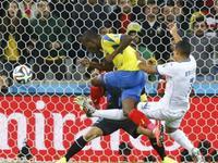 瓦伦西亚门前铲射入网 厄瓜多尔将比分扳平