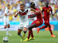 德国2-2加纳 克洛泽救主平大罗进球纪录