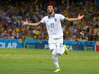 科特迪瓦送大礼 萨马里斯破门希腊1-0领先