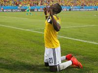 马丁内斯快速反击破门 哥伦比亚3-1奠定胜局