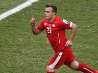 瑞士3-0洪都拉斯 沙奇里上演帽子戏法