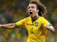 世界杯-巴西2-1哥伦比亚 席尔瓦破门路易斯世界波