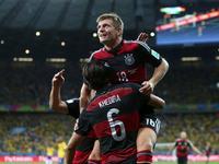 克罗斯大禁区抽射破门 德国3-0再下一城