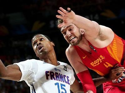 男篮世界杯比赛视频|法国vs西班牙全场录像|法