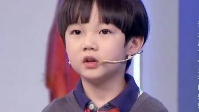 酷似鹿晗小正太惹人爱 谁是广告小男神的妈妈