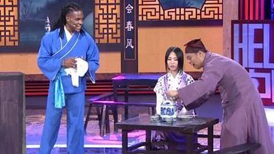 施迈德喝癍痧 穆肯迪未来在中国