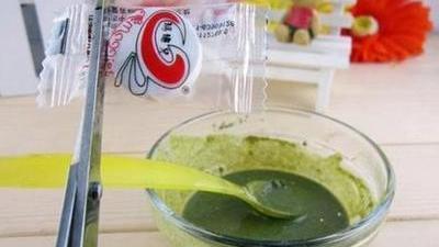 绿茶面膜夏日控油小秘方 DIY香粉有效祛除腋下汗