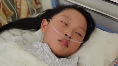 六岁可爱小女孩突发脑瘤 父母会做出怎样的抉择