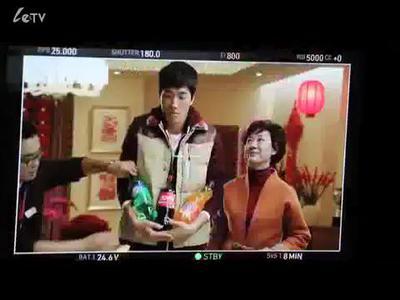 可口可乐新春广告 刘翔拍摄花絮视频