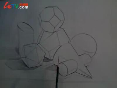 几何简笔画图片大全动物