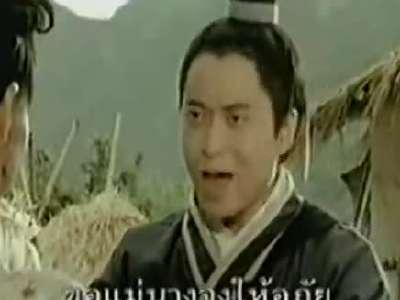 泰国方便面超级搞笑广告 恶搞刘三姐图片
