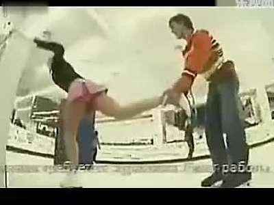 恶搞美女搞笑视频短片系列五