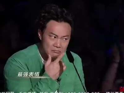 陈奕迅搞怪视频集锦-中国最强音第十五期