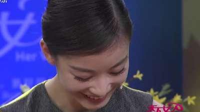 倪妮遭遇冯绍峰隔空传情 我想和你好好的