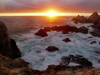 日出大海 磅礴大气日出视频素材