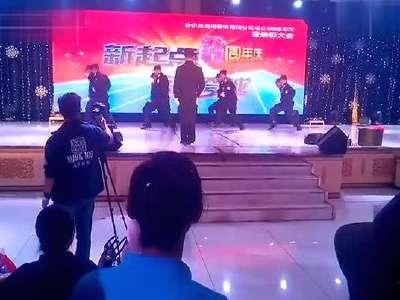 名岛海鲜(哈尔滨)八周年司庆安保部表演