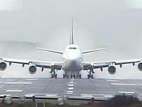 飞机起飞全过程震撼给力