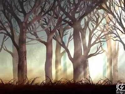 森林里的动物晚会