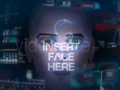 a0220未来科技风屏幕显示界面元素动画ae模板
