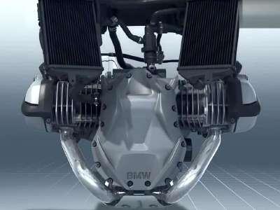 宝马的水平对置摩托车发动机