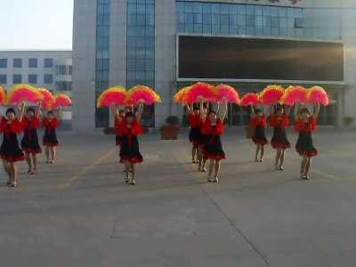 广场舞扇子舞【好日子】城管三队。发