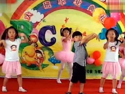 小苹果舞蹈视频 幼儿园小萝莉小正太 大跳广场舞 小苹果