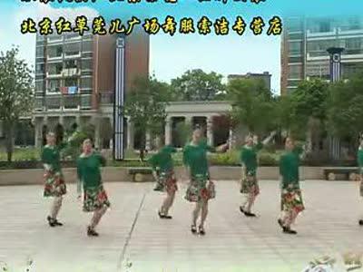 高安子君广场舞 想西藏