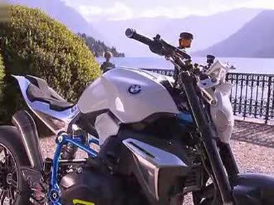 来自未来设计!宝马全新concept roadster摩托车_高清