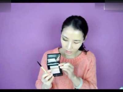 单眼皮怎么画眼线眼妆单眼皮化妆技巧视频教程