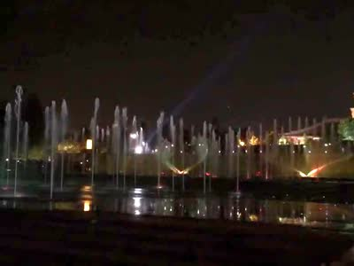大雁塔北广场音乐喷泉1