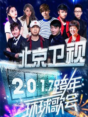 北京卫视2017跨年演唱会海报