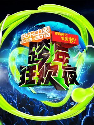 湖南卫视2012-2013跨年狂欢夜演唱会海报